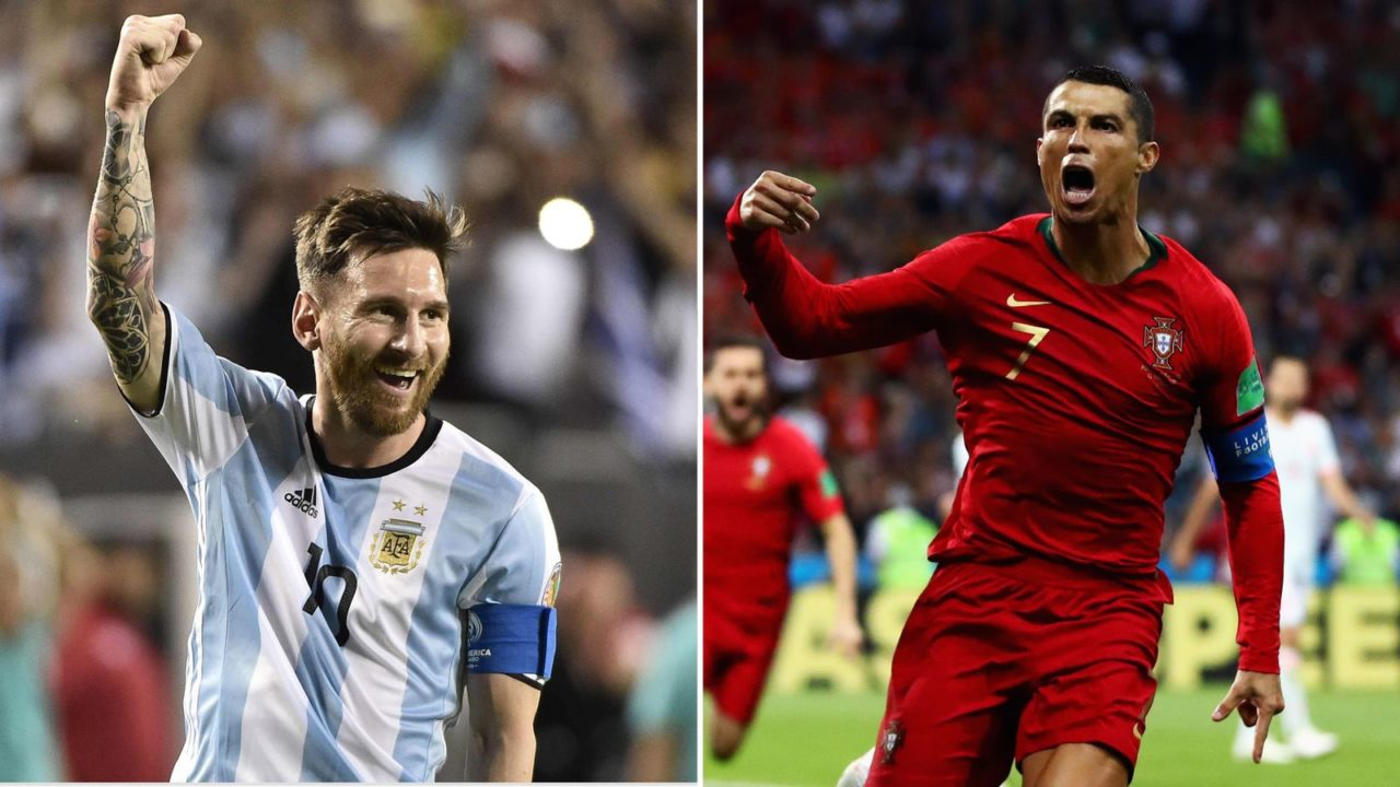Lionel Messi vs Cristiano Ronaldo