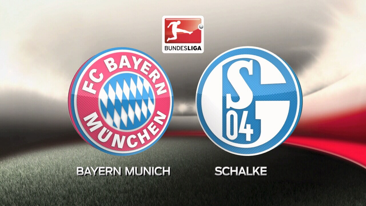 Bayern vs Schalke Free Betting Tips - Bundesliga