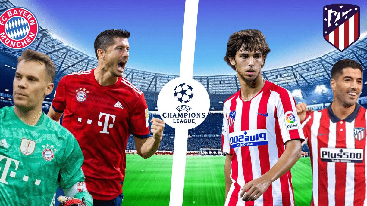 Bayern vs Atletico Madrid Free Betting Tips - Champions League 2020