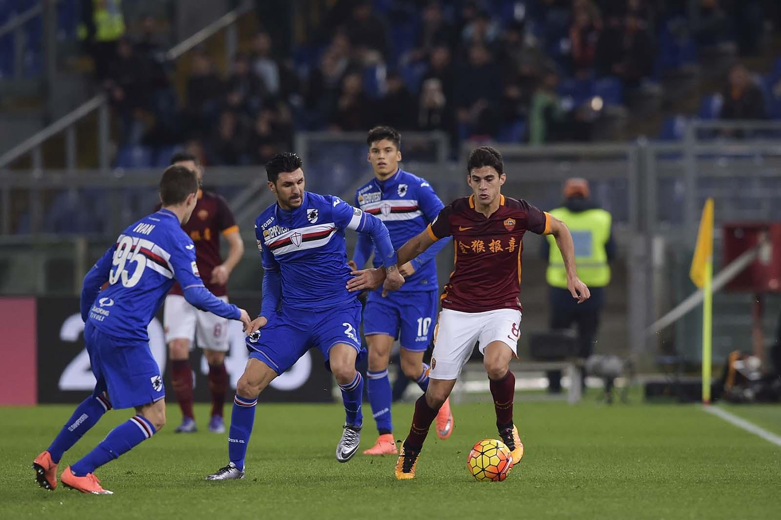 Rome - Sampdoria