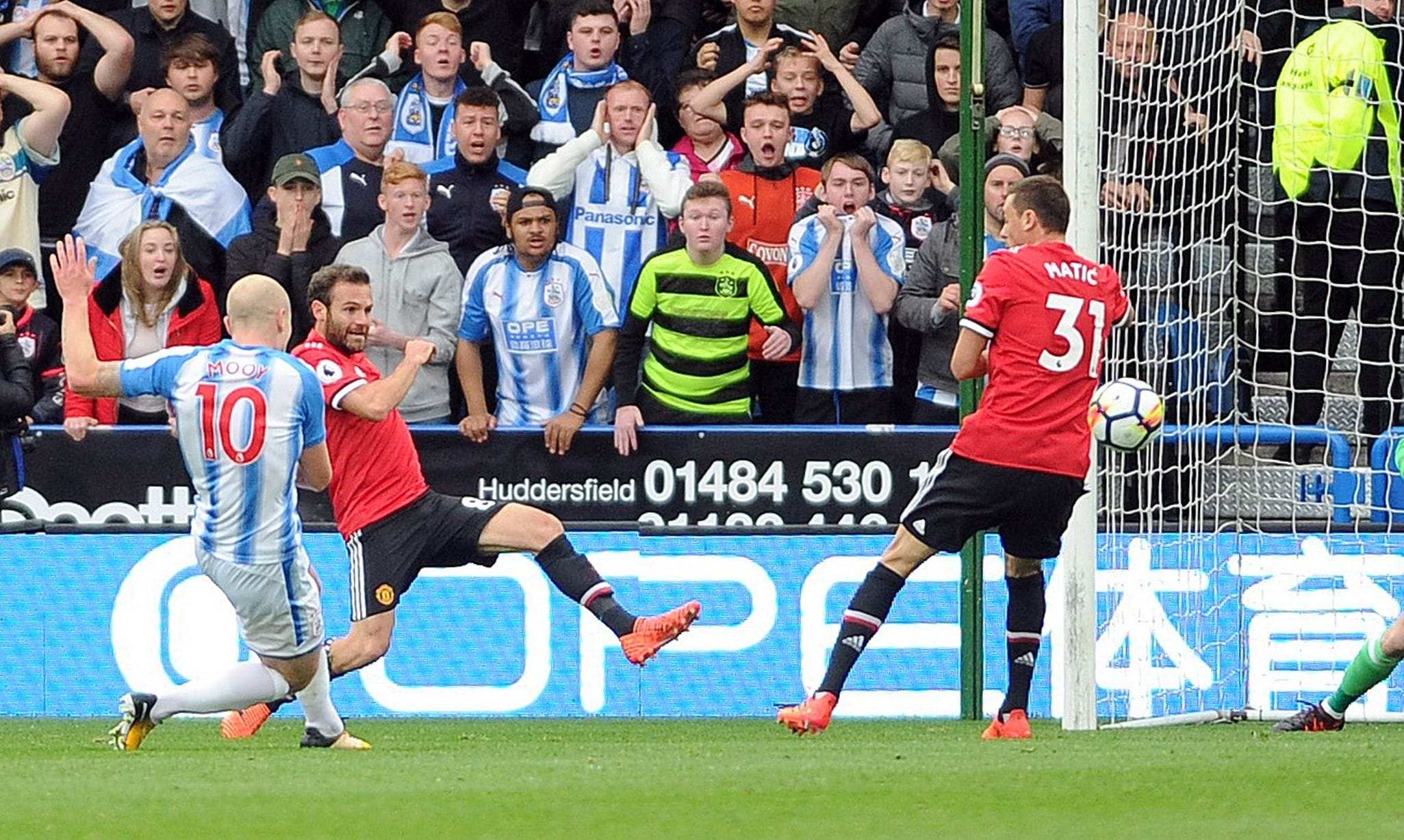 Huddersfield Town - Manchester United soccer prediction