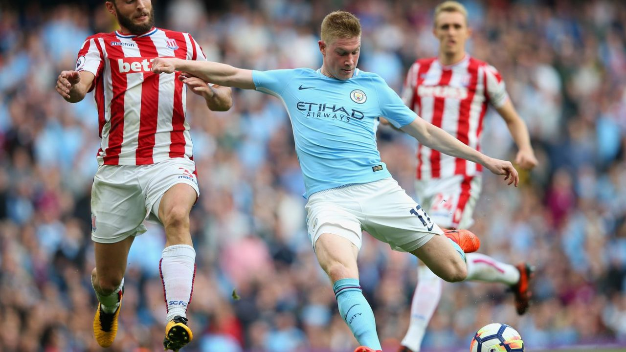 Stoke City - Manchester City Premier League