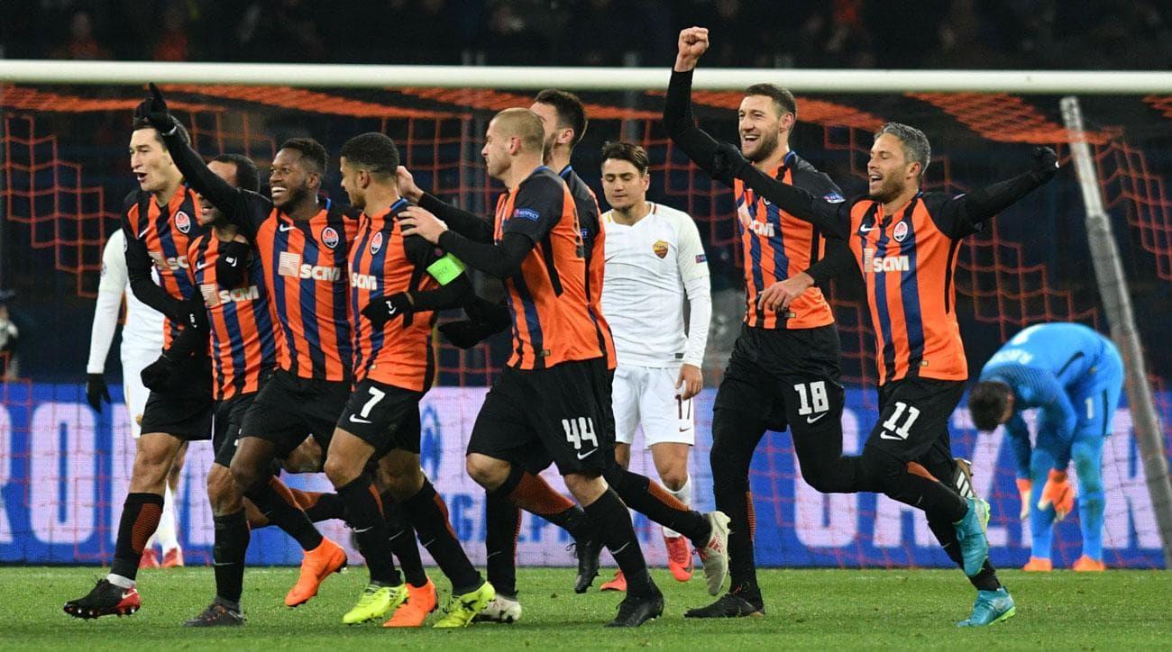 Roma - Shakhtar Donetsk Champions League