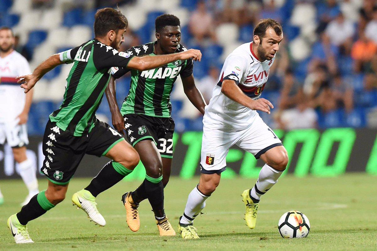 Football Tips Sassuolo Vs Genoa 2 09 2018