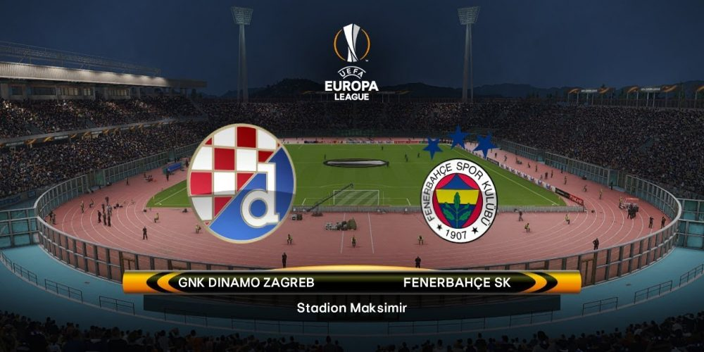 Europa League Dinamo Zagreb vs Fenerbahce