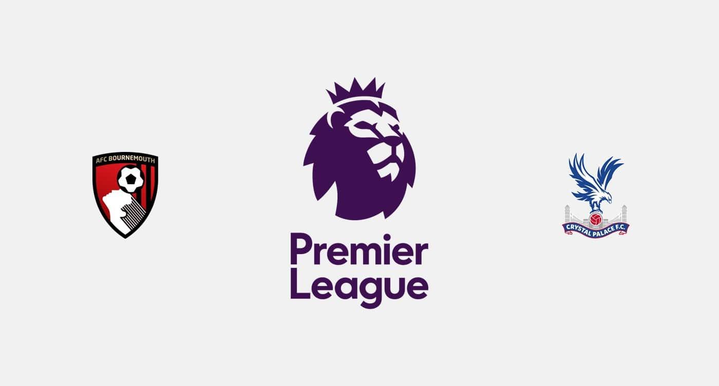 Premier League Bournemouth vs Crystal Palace