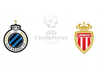 Champions League Club Bruges vs Monaco
