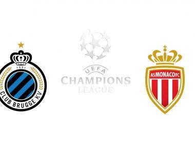 Champions League Club Bruges vs Monaco