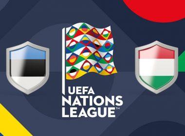 UEFA Nations League Estonia vs Hungary