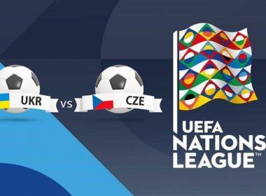 UEFA Nations League Ukraine vs Czech Republic