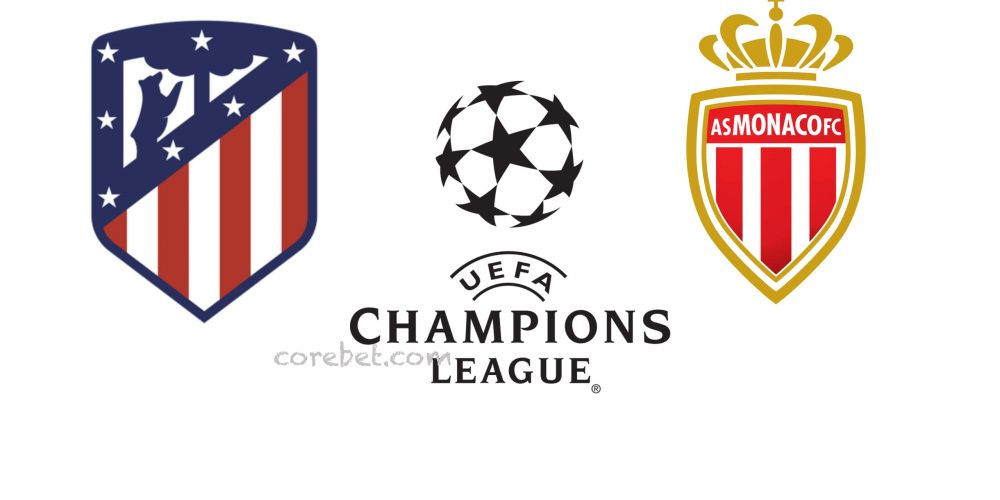 Atletico Madrid vs Monaco Champions League