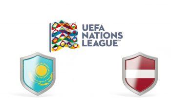 Kazakhstan vs Latvia UEFA Nations League