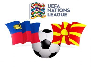 UEFA Nations League Liechtenstein vs Macedonia