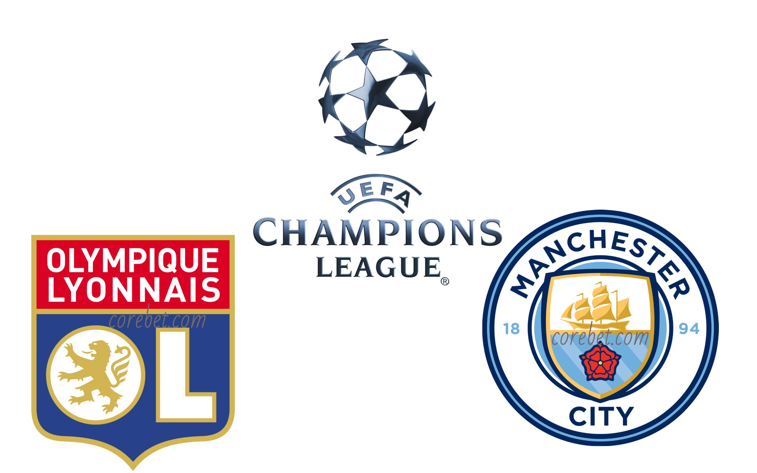 Lyon vs Manchester City2 Champions League