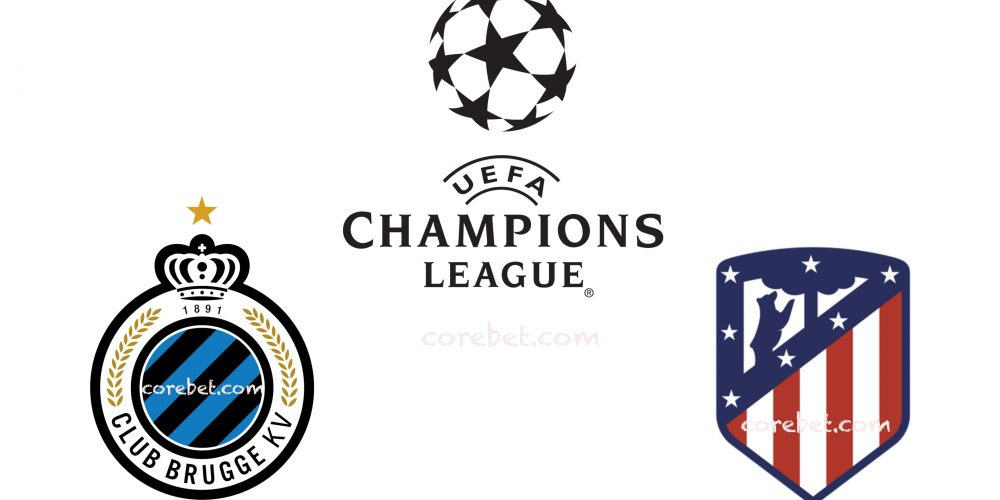Club Brugge vs Atletico Madrid Champions League