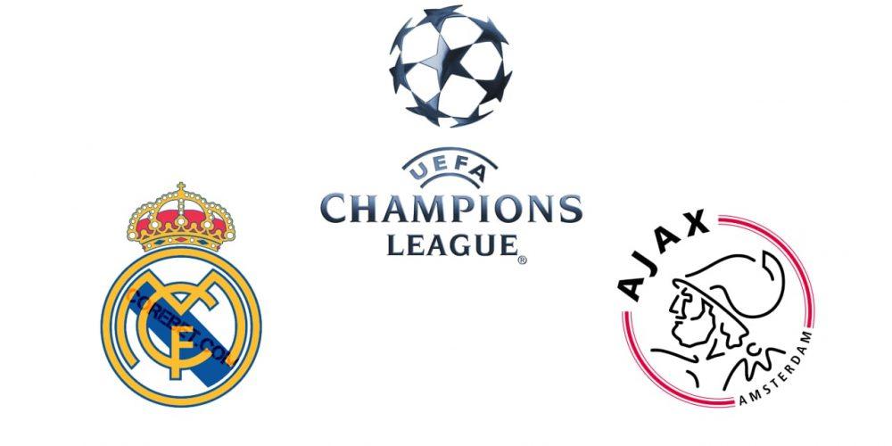 Real Madrid vs Ajax Amsterdam Betting Tips