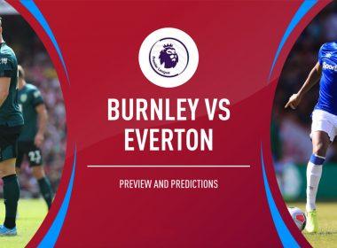 Burnley vs Everton Free Betting Tips
