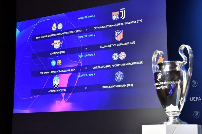 Champions League draw & schedule final tournament